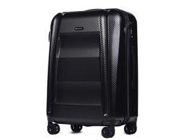 Duża walizka PUCCINI PC017 New York czarna