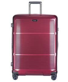 Duża walizka PUCCINI PC021 Vienna bordowa