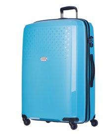 Duża walizka PUCCINI PP010 Havana błękitna