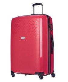 Duża walizka PUCCINI PP010 Havana czerwona