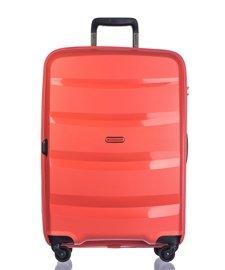 Duża walizka PUCCINI PP012 Acapulco pomarańczowa