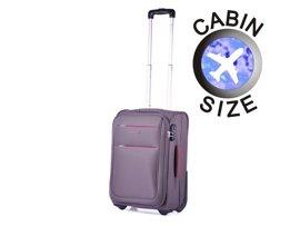 Mała walizka PUCCINI EM-50307 Camerino szara