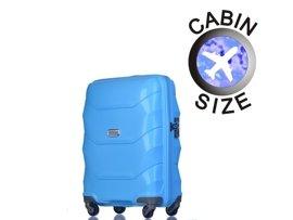 Mała walizka PUCCINI PP011 Miami niebieska