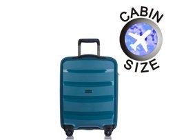 Mała walizka PUCCINI PP012 Acapulco turkusowa