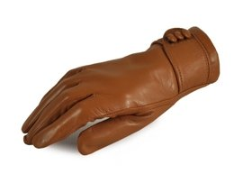 Rękawiczki damskie PUCCINI D-1479 brązowe