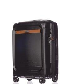 Średnia walizka PUCCINI PC020 Stockholm czarna
