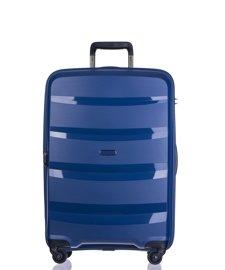 Średnia walizka PUCCINI PP012 B granatowa