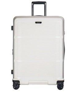 Duża walizka PUCCINI PC021 Vienna kremowa