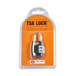 Kłódka szyfrowa PUCCINI TSA-335 czarna