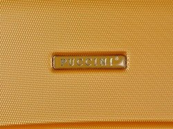 Mała walizka PUCCINI ABS02 Lizbona złota