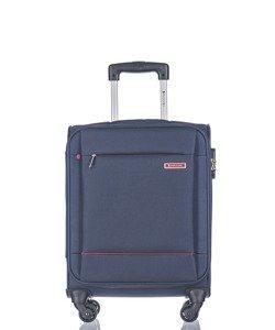 Mała walizka PUCCINI EM-50720 Parma granatowa