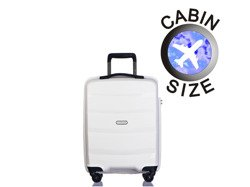 Mała walizka PUCCINI PP012 Acapulco biała
