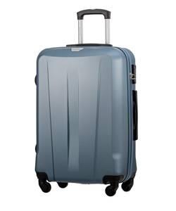 Średnia walizka PUCCINI ABS03 Paris niebieska