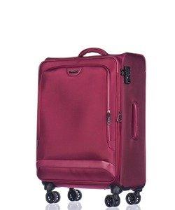 Średnia walizka PUCCINI Copenhagen EM-50420 B czerwona