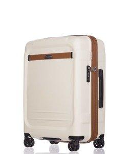 Średnia walizka PUCCINI PC020 Stockholm biała