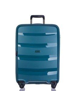 Średnia walizka PUCCINI PP012 Acapulco turkusowa