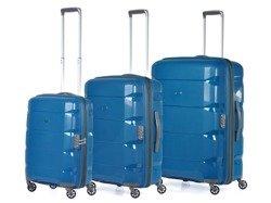 Zestaw trzech walizek PUCCINI Tokyo PP007 ABC